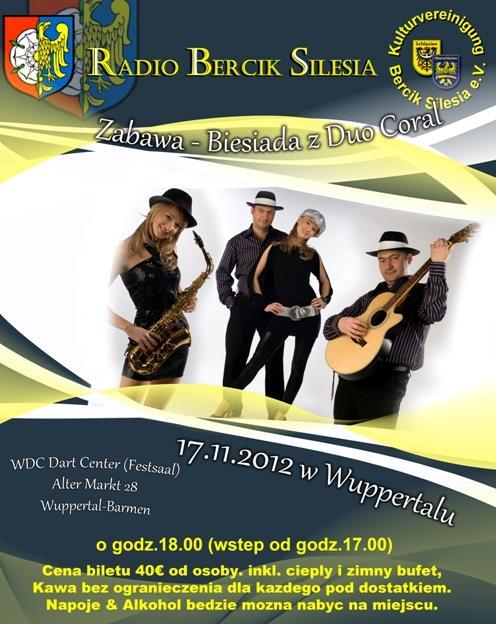 Biesiada Radia Bercik - Silesia - 2012 w Wuppertalu