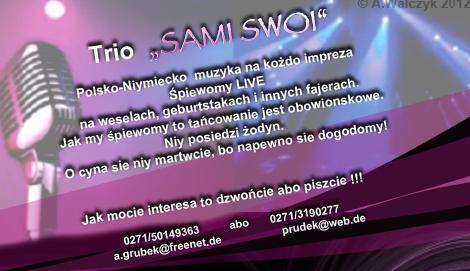 """Trio """"SAMI SWOI"""""""