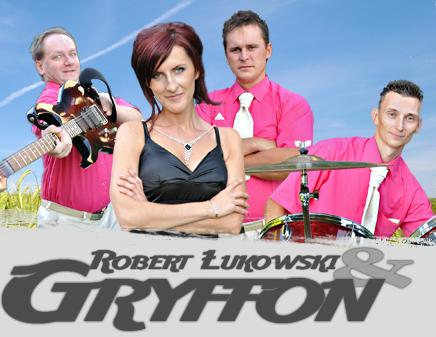 Zespół Gryffon: Grzegorz, Krzysztof, Robert, Brygida