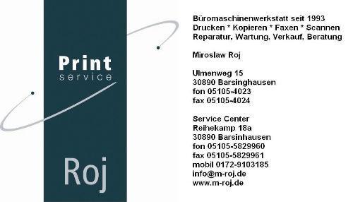 Firma ROJ - Print Service